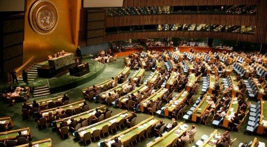 ООН приняла резолюцию Украины о милитаризации Крыма