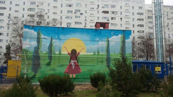 На севастопольский теплопункт поместили ангела-хранителя