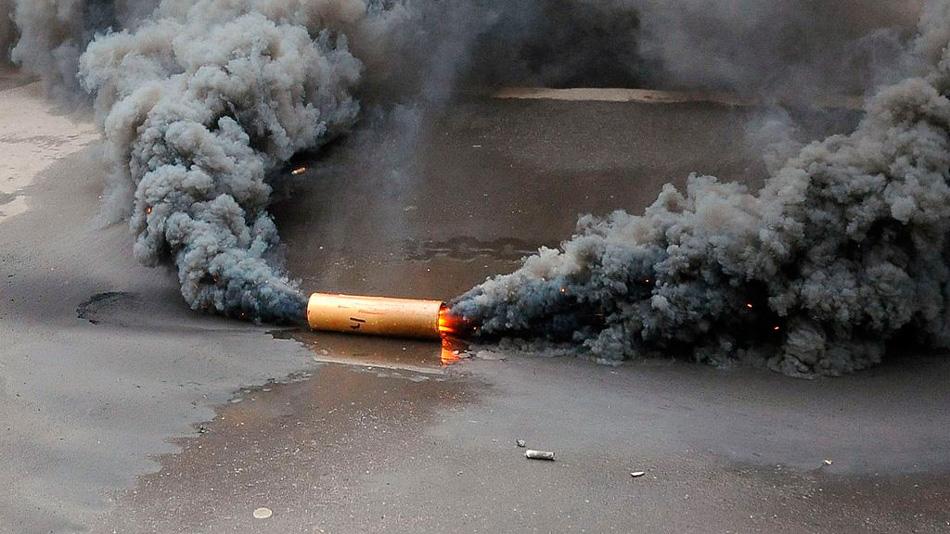 Возле Керчи у пассажира автобуса обнаружили дымовую шашку