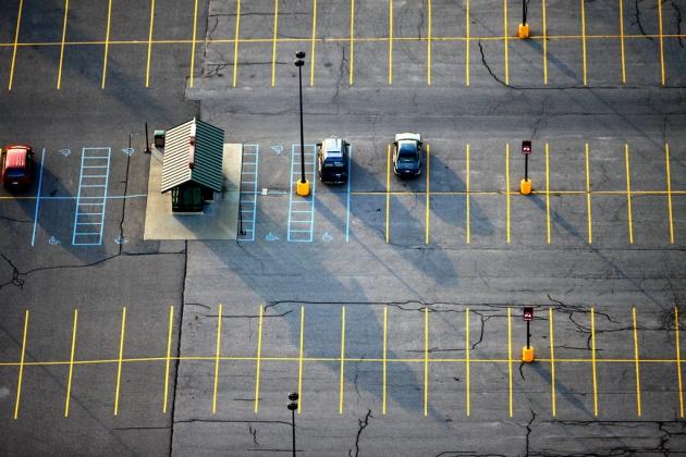 Парковка в аэропорту Симферополь перешла на новогодний тариф
