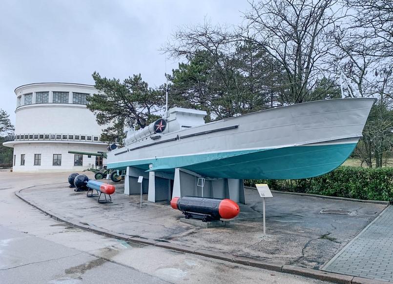 На Сапун-горе отреставрировали торпедный катер