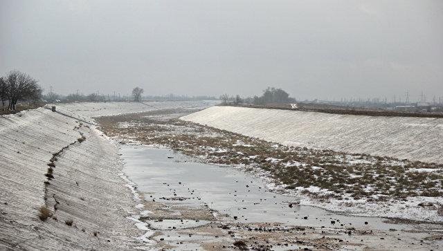 На Украине решили достроить дамбу, перекрывающую подачу воды в Крым