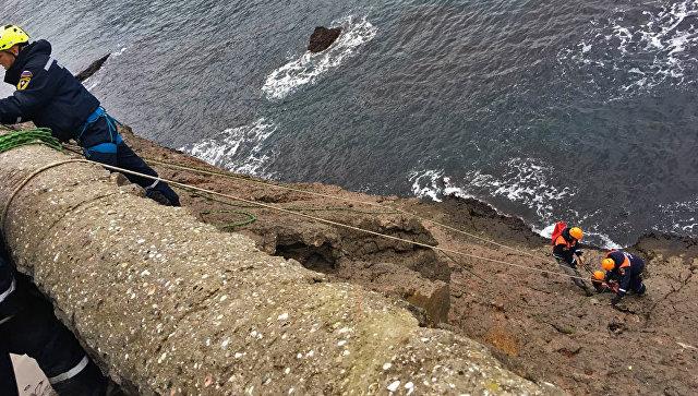 Крымчанин сорвался в море с тропы Голицына