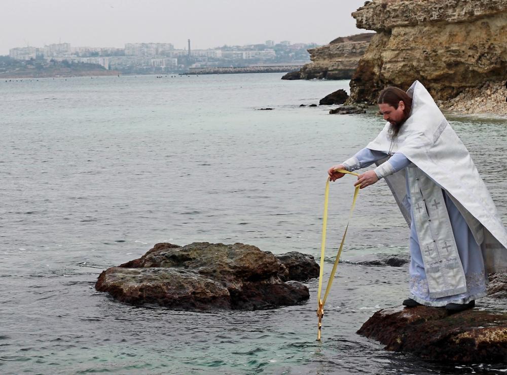 Как в Севастополе отметят Крещение
