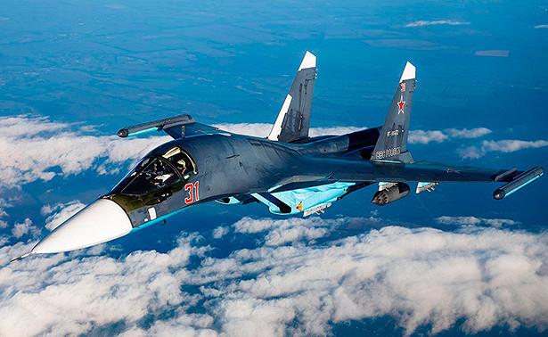 Спасатели обнаружили тело погибшего летчика Су-34