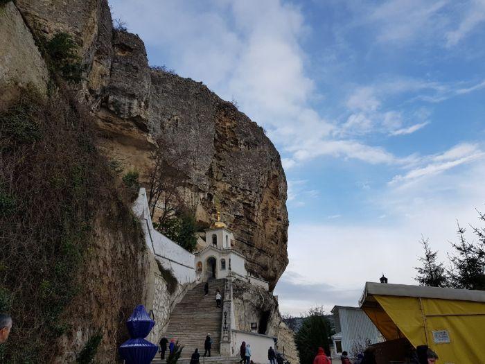 Блог путешественника по Крыму: Свято-Успенский монастырь в Бахчисарае