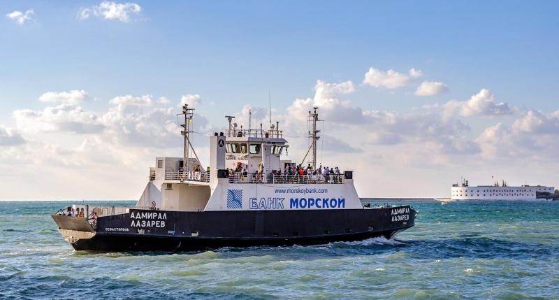 В Севастополе перестали ходить катера и паром