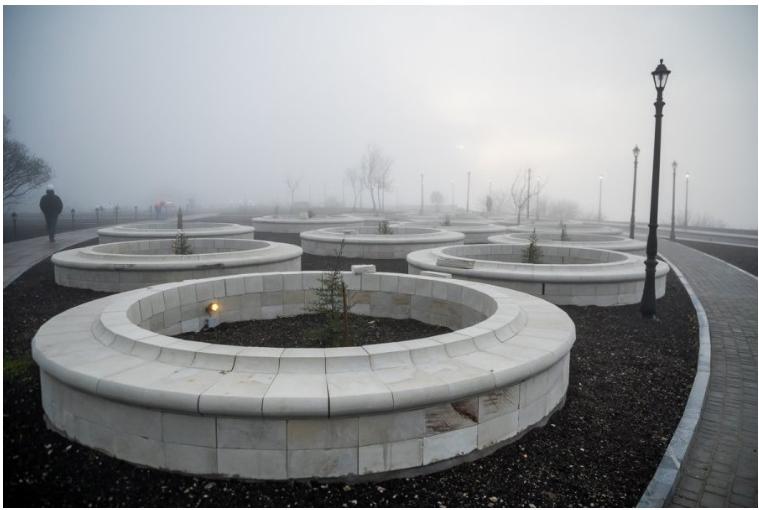 Парк на Фиоленте будет готов к концу января