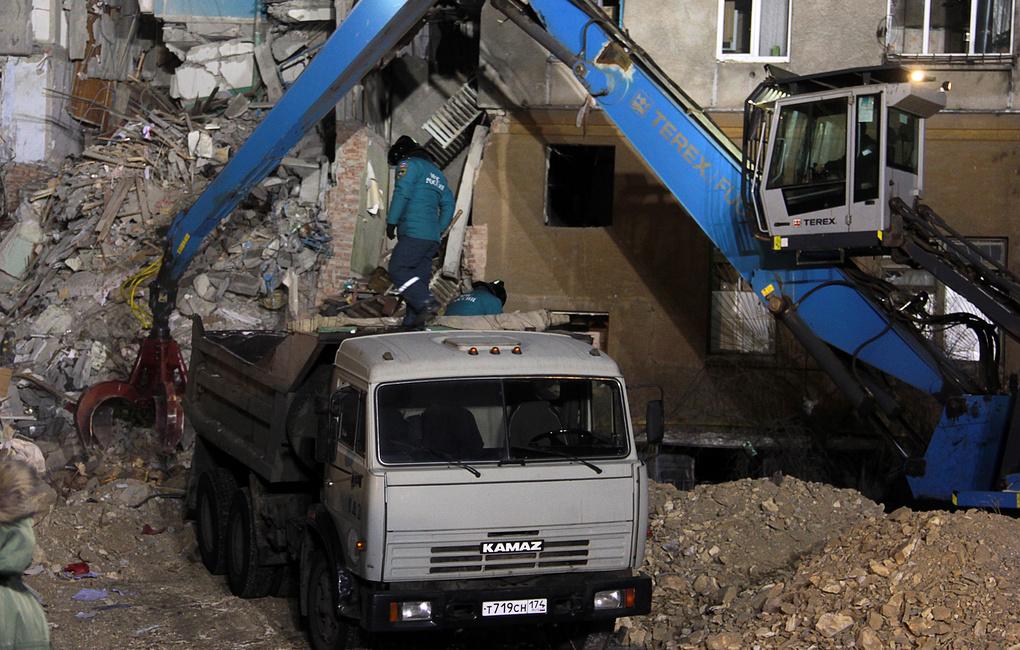 Число жертв обрушения дома в Магнитогорске увеличилось до 37