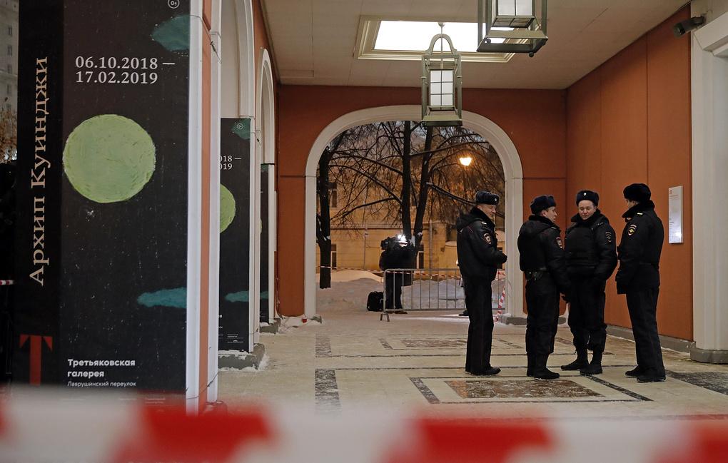 Подозреваемого в краже картины Куинджи из Третьяковки задержали