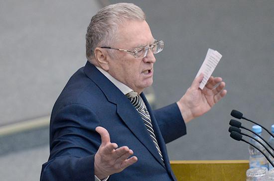 Украина обвиняет Жириновского в призывах присоединить Крым к России