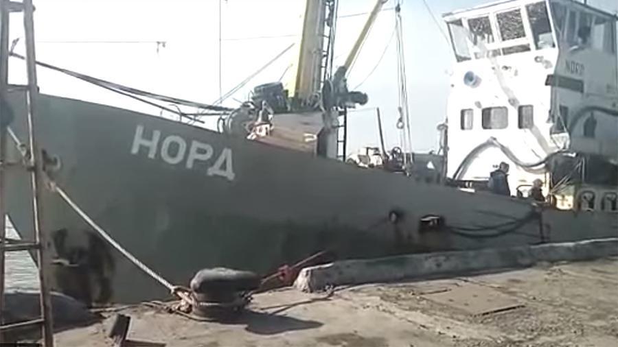 Капитан российского судна «Норд» пропал на территории Украины