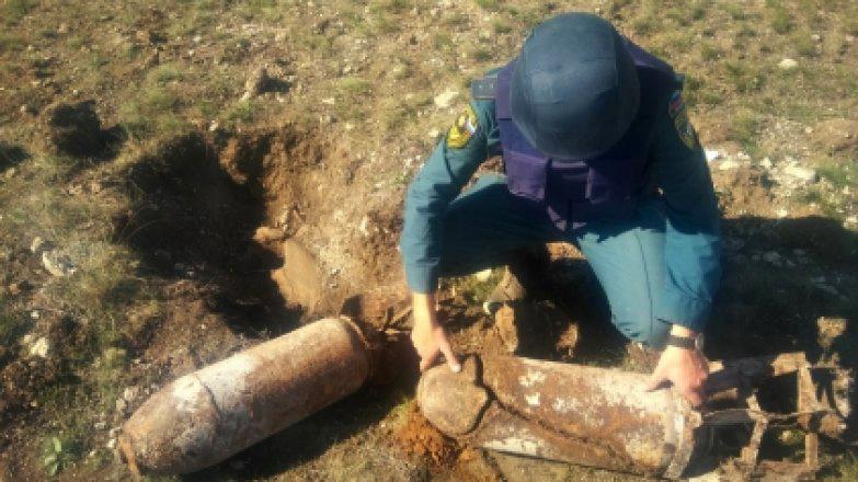 В Крыму обезвредили две авиабомбы времен ВОВ