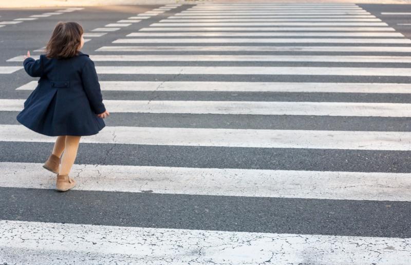 В Севастополе на пешеходном переходе сбили маленькую девочку