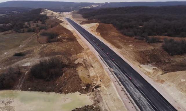 Видео севастопольского участка «Тавриды» с высоты птичьего полета