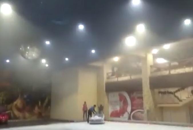 «Пошел сизый дым»: в «Муссоне» сработала противопожарная система