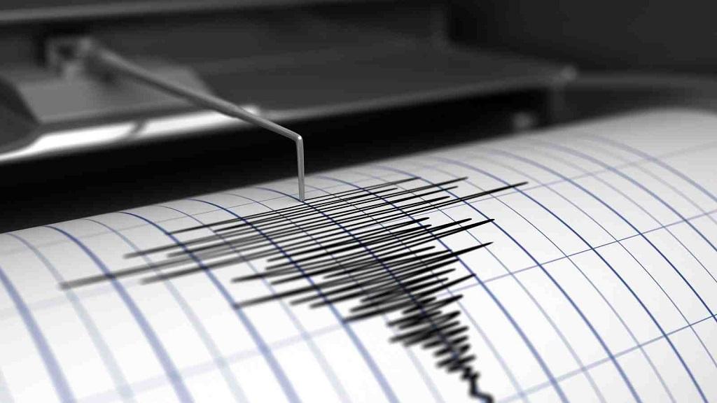 В море у берегов Крыма произошло землетрясение