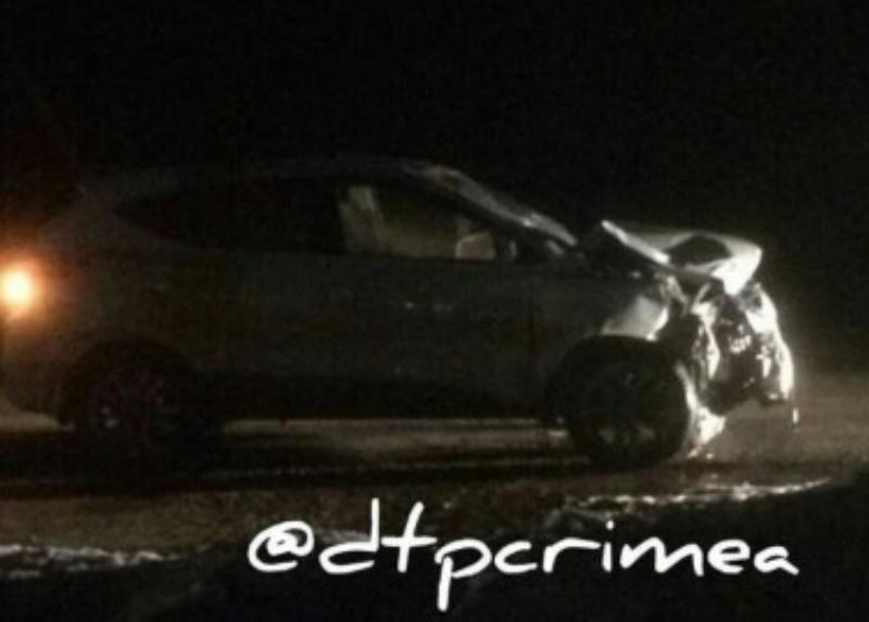 В Крыму автомобиль насмерть сбил двух женщин (фото)