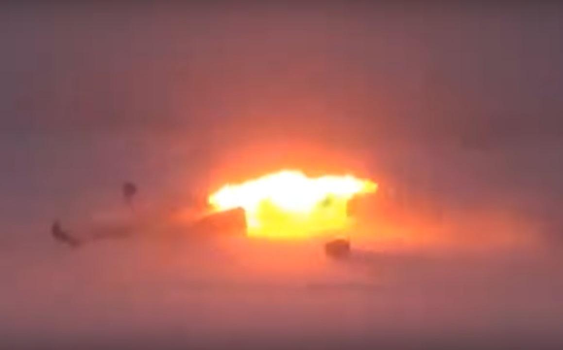 Момент крушения ТУ-22М3 попал на видео