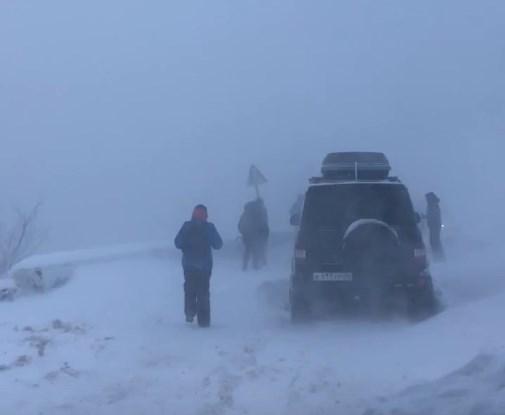 В соцсетях сообщают о лавинах на Ай-Петри (видео)