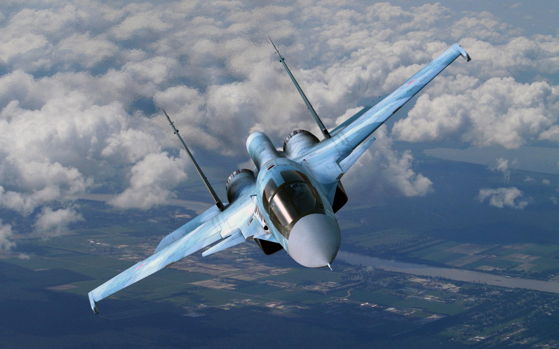 Два истребителя Су-34 столкнулись в воздухе на Дальнем Востоке: о судьбе экипажа пока данных нет