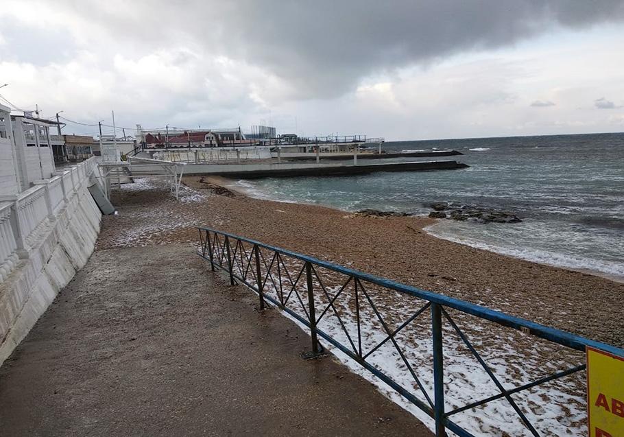 К Крещению пляжи Севастополя будут приведены в порядок