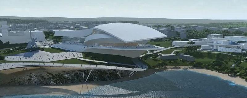 В виде чайки: каким будет новый оперный театр в Севастополе