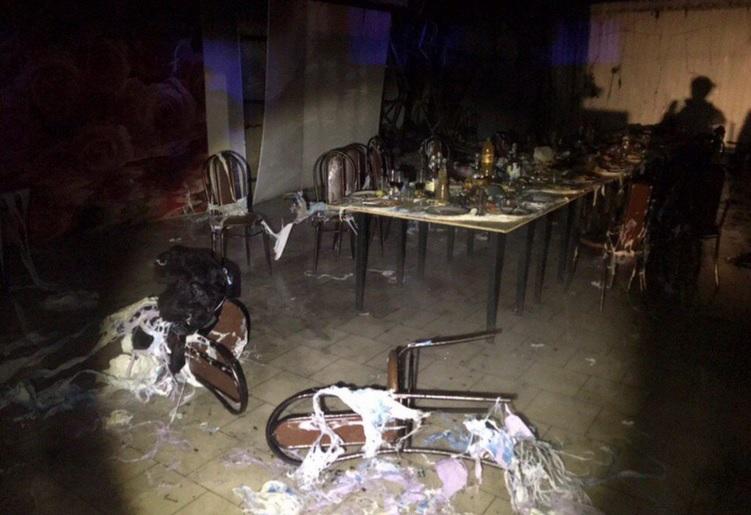 Взрыв в саратовском кафе: есть погибший, десятки пострадали