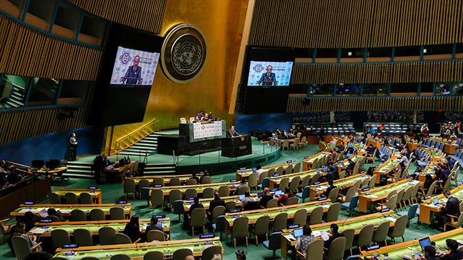 В ООН объяснили, почему по-русски правильно писать «на Украине»
