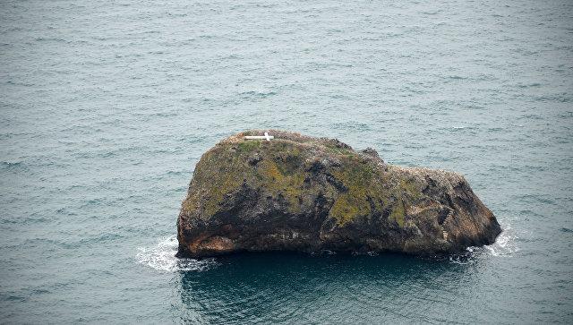 Упавший на скале у мыса Фиолент крест восстановят военные