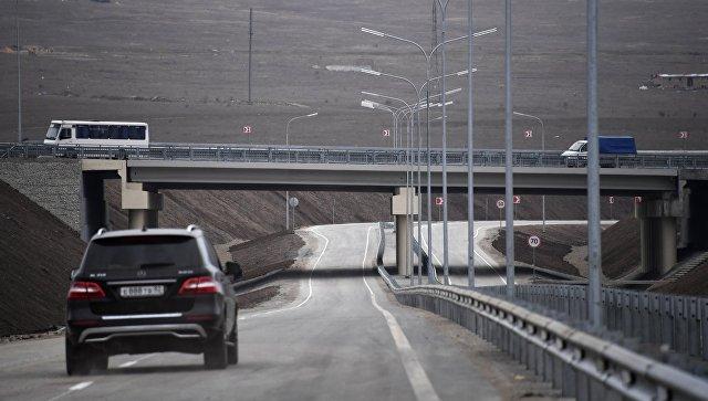 Схема движения по новой объездной дороге Дубки-Левадки
