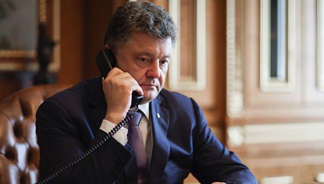 Порошенко пожаловался журналистам, что Путин не отвечает на его звонки
