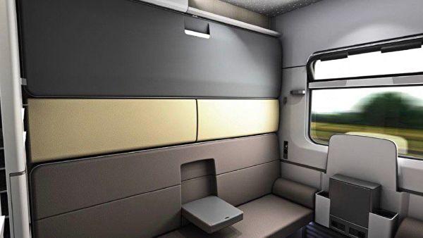Сейф, душ, сенсорные экраны: как будут выглядеть новые вагоны РЖД