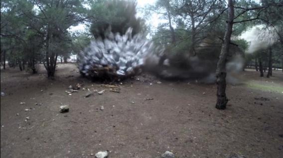 В Севастополе на Фиолентовском шоссе ликвидировали бомбу