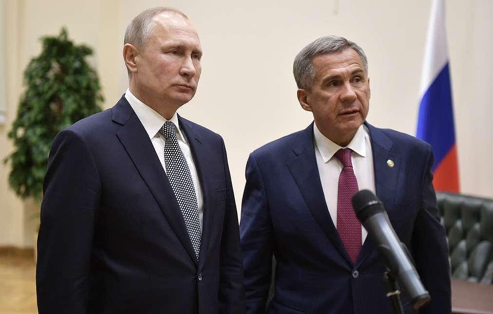 «Не отвлекайся, чего ты»: во время заседания Госсовета Путин дважды сделал замечание главе Татарстана