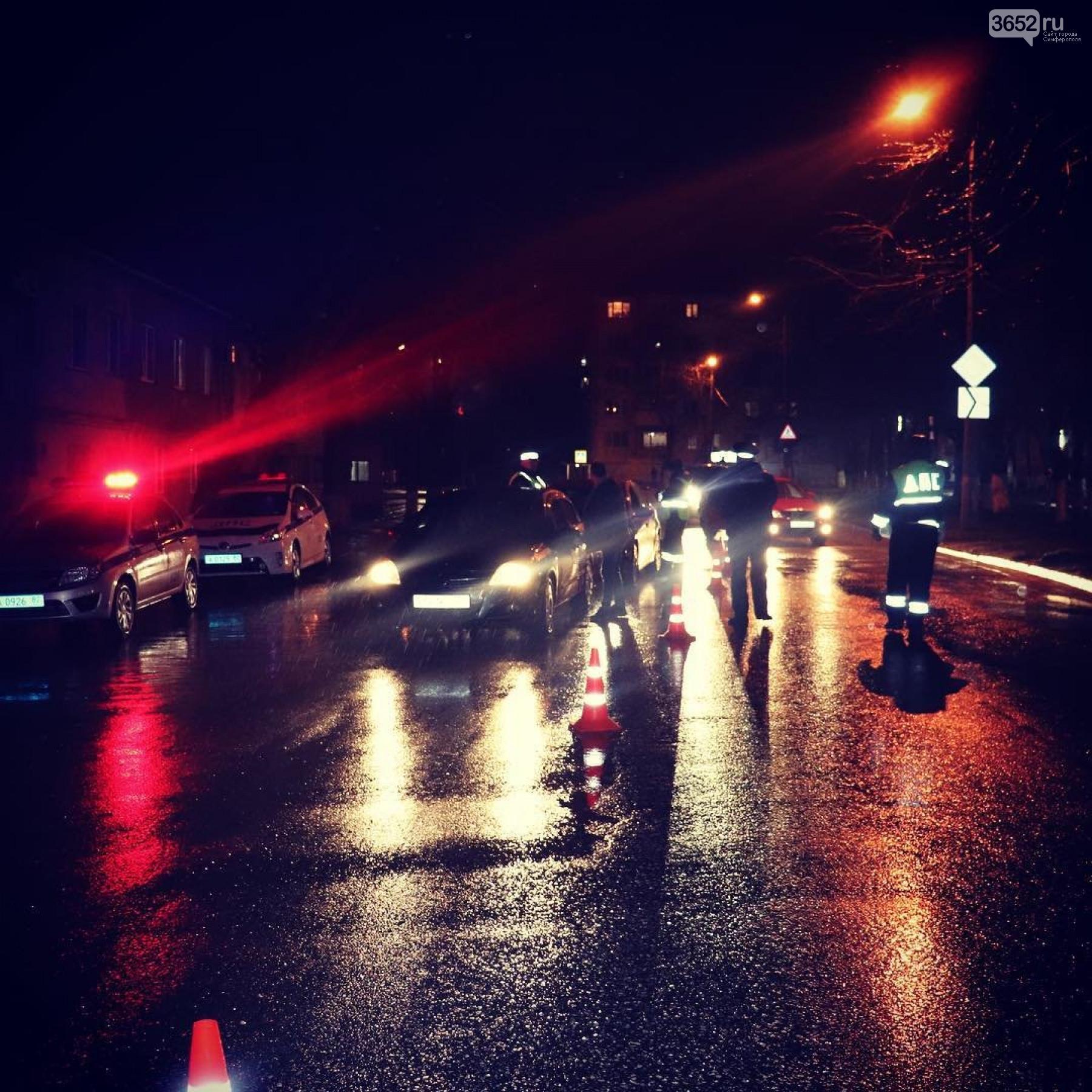 В Симферополе всю ночь ловили пьяных водителей