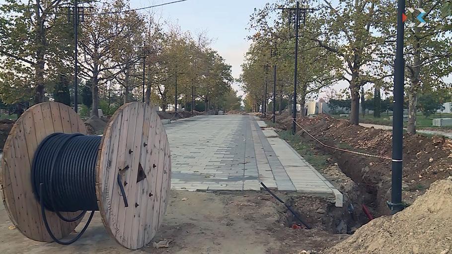 Как проходит реконструкция Парка Победы в Севастополе