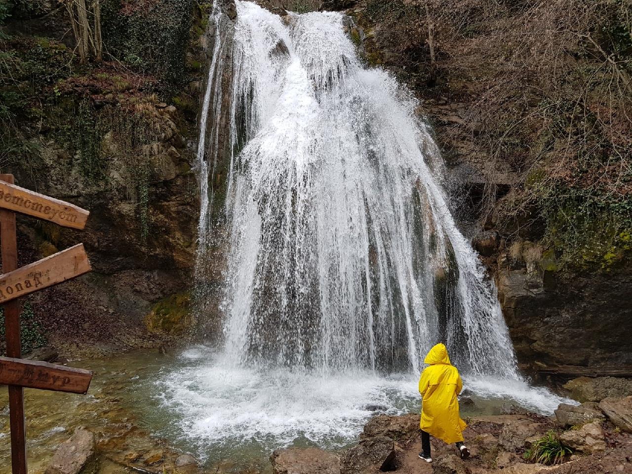 Блог путешественника по Крыму: как добраться до водопада Джур-Джур