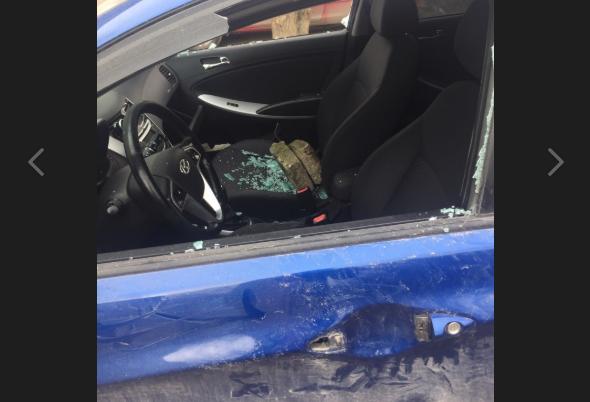 В Крыму злоумышленники жестоко «расправляются» с автомобилями