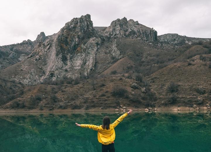 Блог путешественника по Крыму: Зеленогорье и озеро Панагия