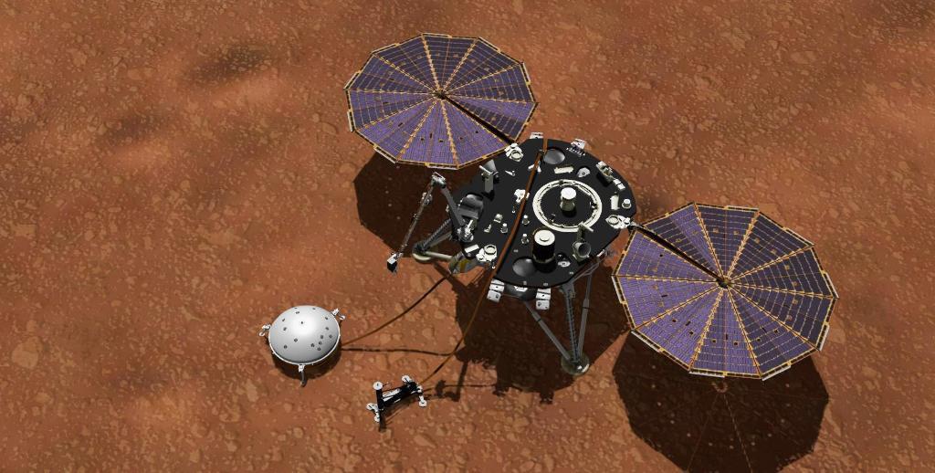 Сильный ветер и минус 95 градусов: межпланетная станция начала передавать ежедневные метеосводки с Марса