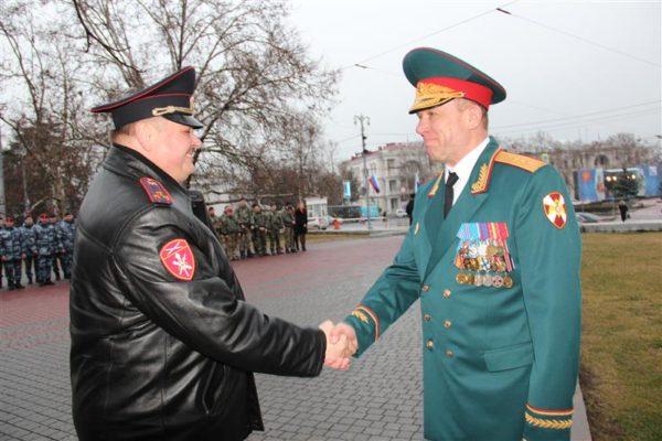 В Севастополе бойцам «Беркута» вручили ключи от новых квартир