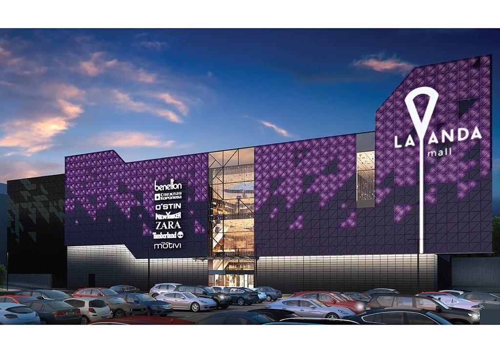 Как будет выглядеть внутри новый торговый центр «Лаванда Mall»