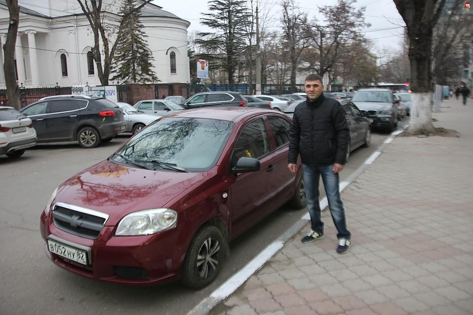 порошенко и таксист