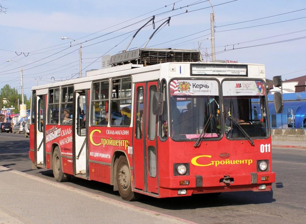 Троллейбусы в Керчи полностью прекратили работу