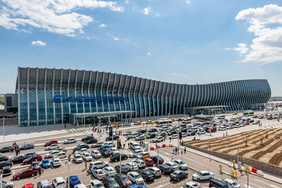 Церемонию открытия аэропорта в Симферополе отметили престижной премией