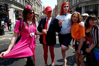 Дональд Трамп задумал узаконить геев во всем мире