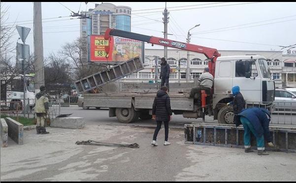 Площадь 50-летия СССР в Севастополе снова превратится в проезжую часть?
