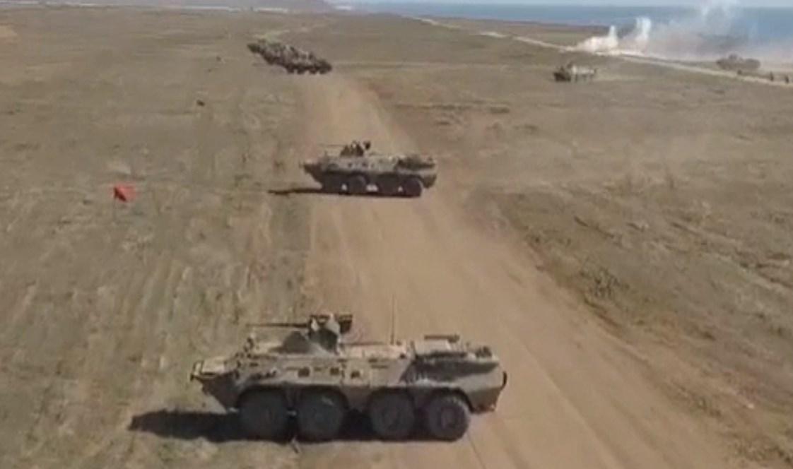 В Крыму проходят масштабные учения Черноморского флота