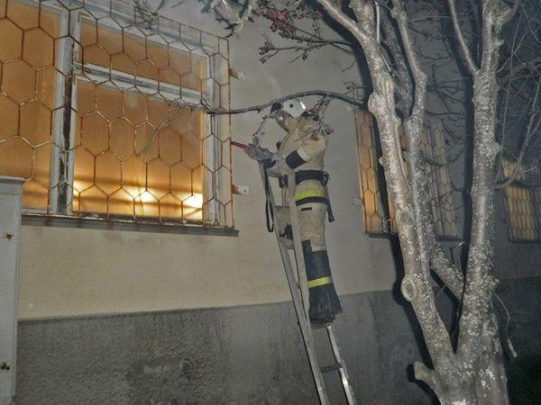 В Щелкино тушили «пожар» в администрации